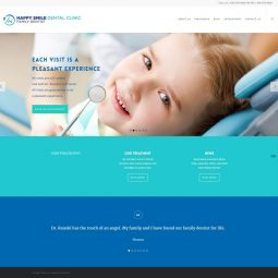 Happy Smile Dental (Surrey, BC) Project: Optimization, Recovery services, Website performance and security audit, Technical Support